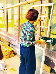 09/03ワークショップ DIY女子のための塗装講座