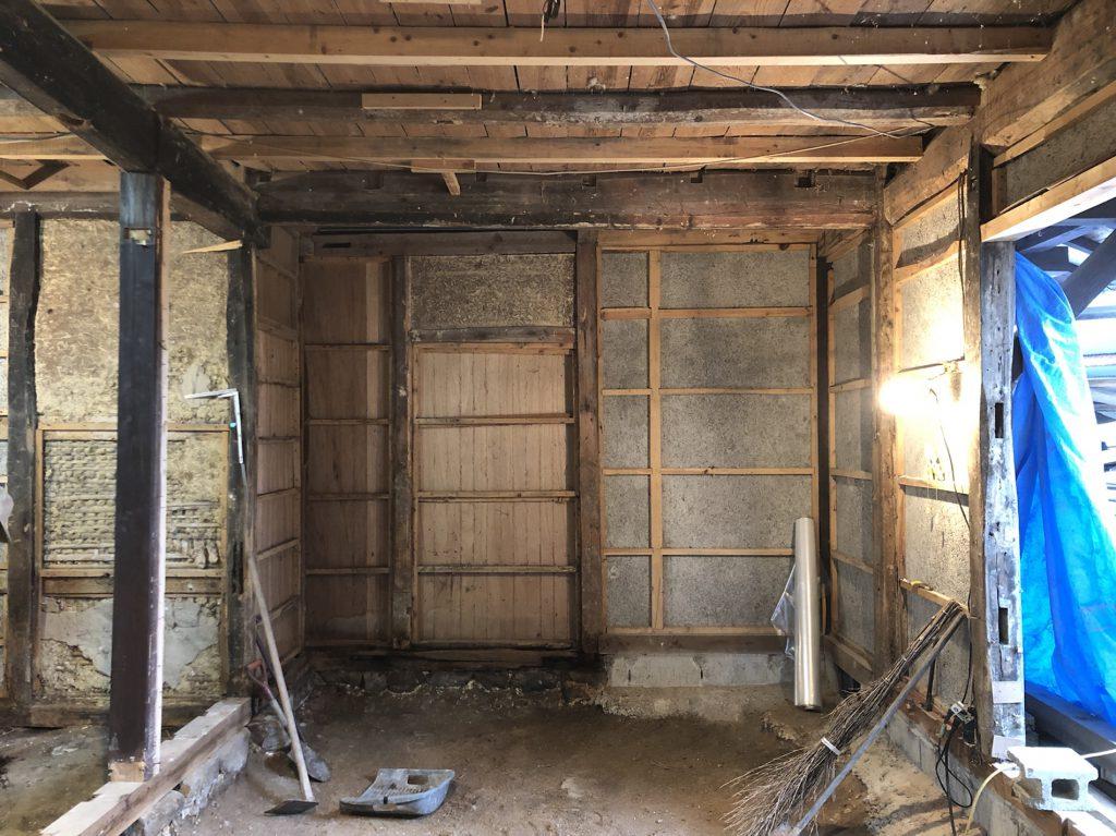 三次市糸井町で木の家をリノベーションした施工事例
