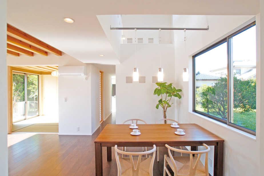 デザイン住宅には高断熱高気密が必須条件です